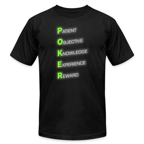 POKER - Men's  Jersey T-Shirt
