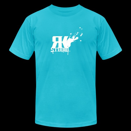 RKStudio White Logo Version - Unisex Jersey T-Shirt by Bella + Canvas
