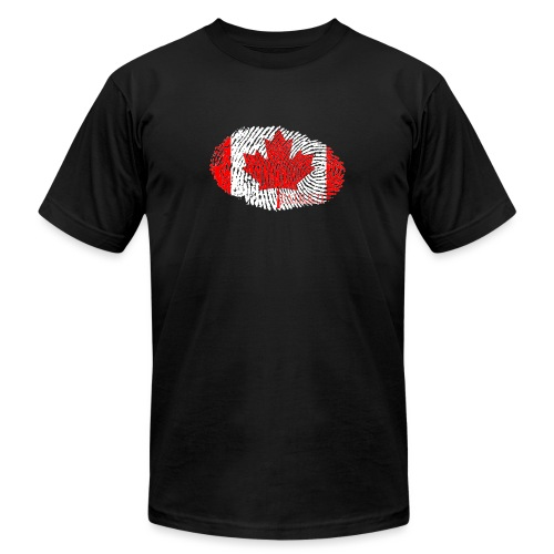 Canadian Identity - Unisex Jersey T-Shirt by Bella + Canvas