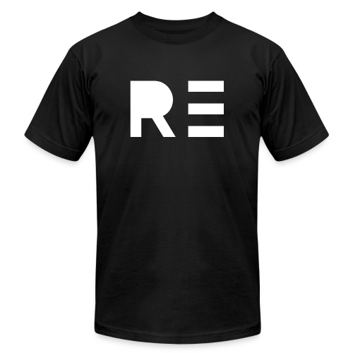 RE Logo - Men's  Jersey T-Shirt