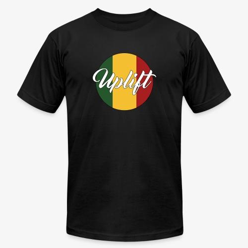 Uplift Rasta Basic // - Unisex Jersey T-Shirt by Bella + Canvas