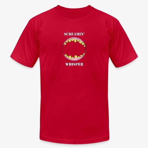 Screamin' Whisper - Men's  Jersey T-Shirt