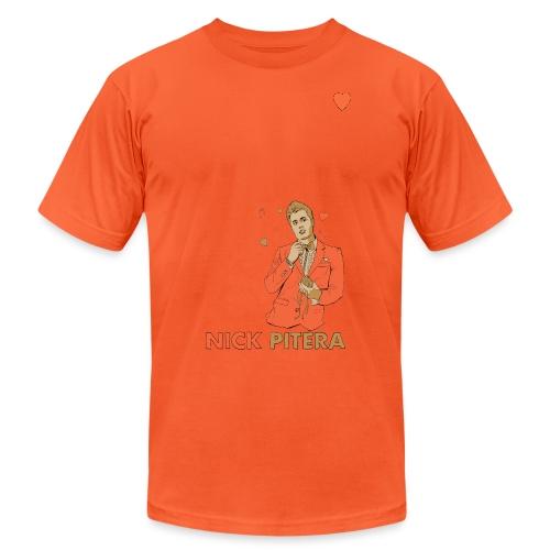 nicktshirthearttransparent - Unisex Jersey T-Shirt by Bella + Canvas