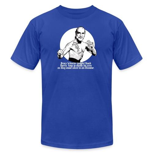 schneier10 martial white - Unisex Jersey T-Shirt by Bella + Canvas
