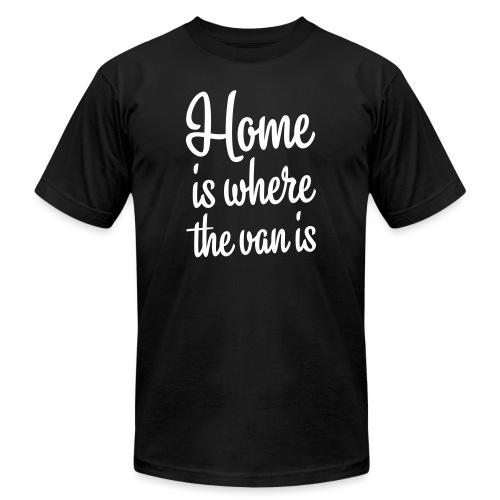 Home is where the van is - Autonaut.com - Men's Jersey T-Shirt