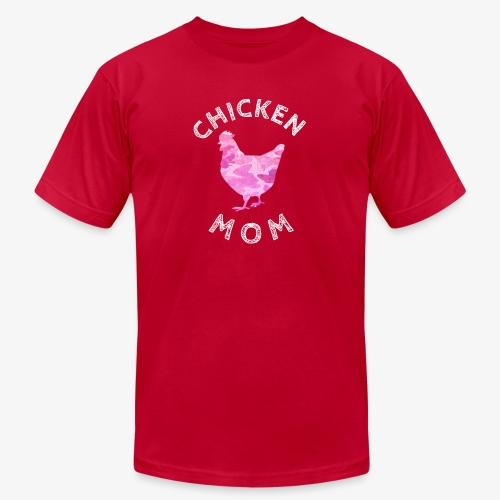 Chicken Mom Shirt Farm Gift - Unisex Jersey T-Shirt by Bella + Canvas