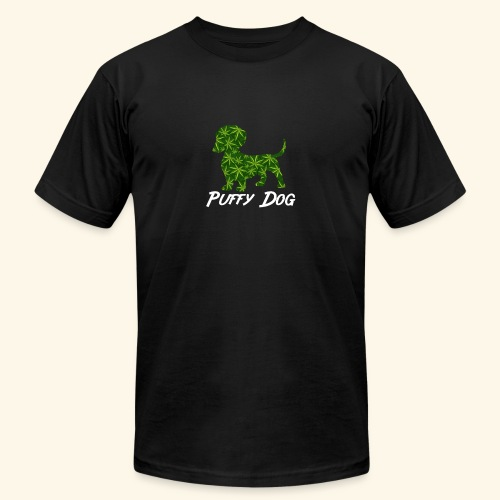 PUFFY DOG - PRESENT FOR SMOKING DOGLOVER - Unisex Jersey T-Shirt by Bella + Canvas