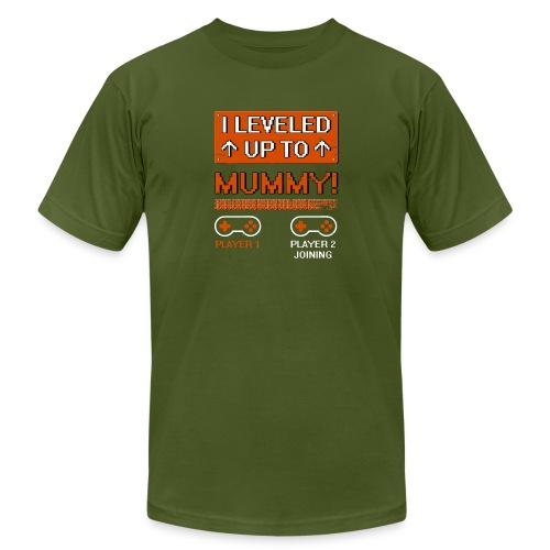 I Leveled Up To Mummy - Men's Jersey T-Shirt