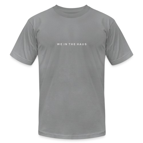We In The Haus Logo - Unisex Jersey T-Shirt by Bella + Canvas