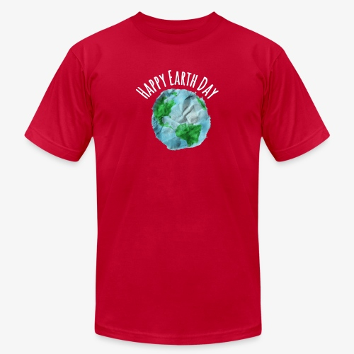 happy Earth Day T-Shirt - Unisex Jersey T-Shirt by Bella + Canvas