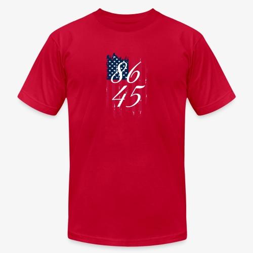86 45 Anti Trump President Trump - Unisex Jersey T-Shirt by Bella + Canvas