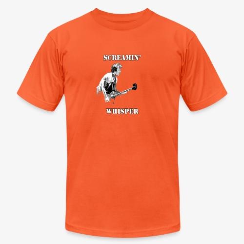 Screamin' Whisper Filth Design - Unisex Jersey T-Shirt by Bella + Canvas