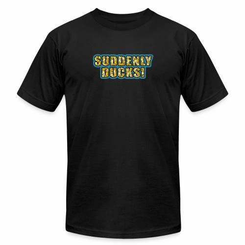 Duck-Filled Text - Men's  Jersey T-Shirt