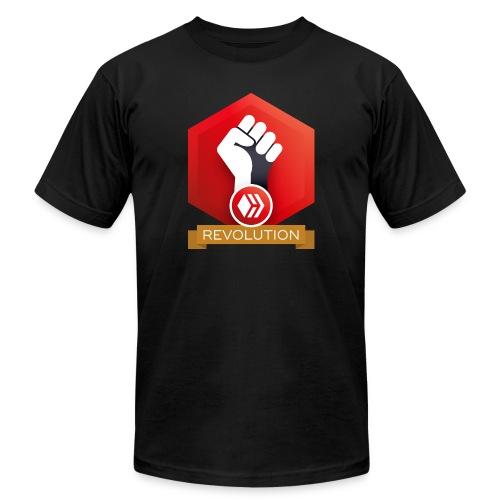 Hive Revolution Banner - Unisex Jersey T-Shirt by Bella + Canvas