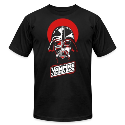 the Vampire Strikes Back - Unisex Jersey T-Shirt by Bella + Canvas