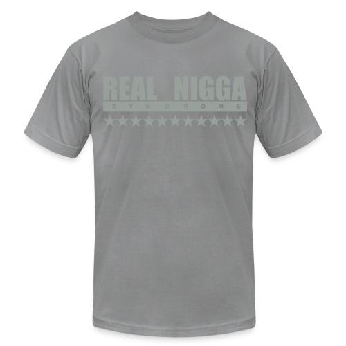 real nigga - Unisex Jersey T-Shirt by Bella + Canvas