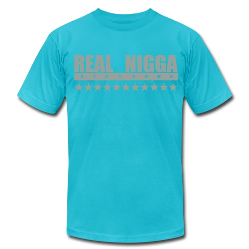 real nigga - Unisex Jersey T-Shirt by Bella + Canvas