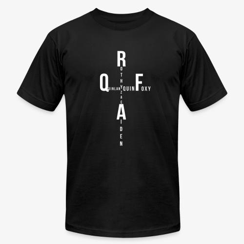 Rothy Quinlan foxy Aiden Zac quin logo - Men's  Jersey T-Shirt