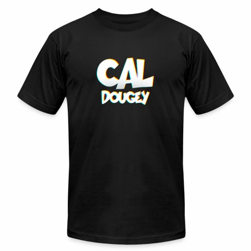 CAL DOUGEY TEXT - Unisex Jersey T-Shirt by Bella + Canvas