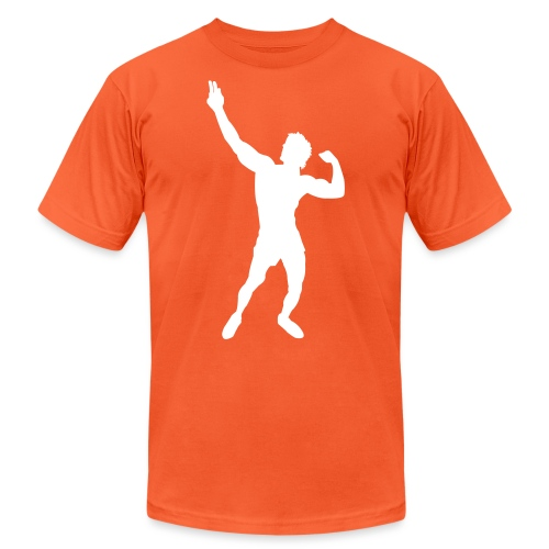 Zyzz Silhouette vector - Unisex Jersey T-Shirt by Bella + Canvas