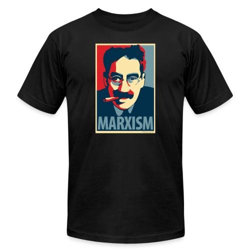 Marxism: Obama Poster Parody - Unisex Jersey T-Shirt by Bella + Canvas