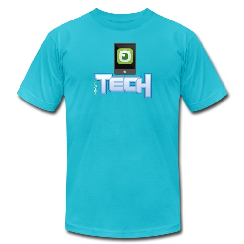 rev3techstacked01 - Unisex Jersey T-Shirt by Bella + Canvas