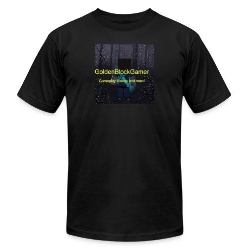 GoldenBlockGamer Tshirt - Men's  Jersey T-Shirt