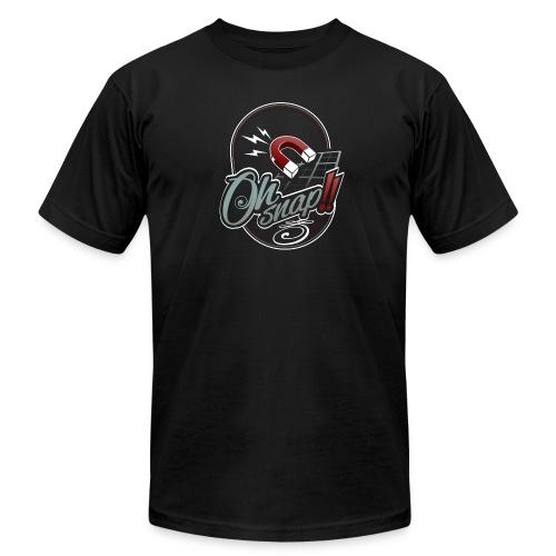 Grid Snap - Men's Jersey T-Shirt