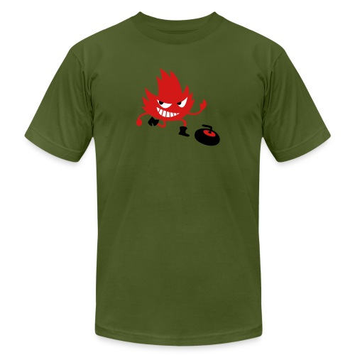 Leif Curling - Unisex Jersey T-Shirt by Bella + Canvas