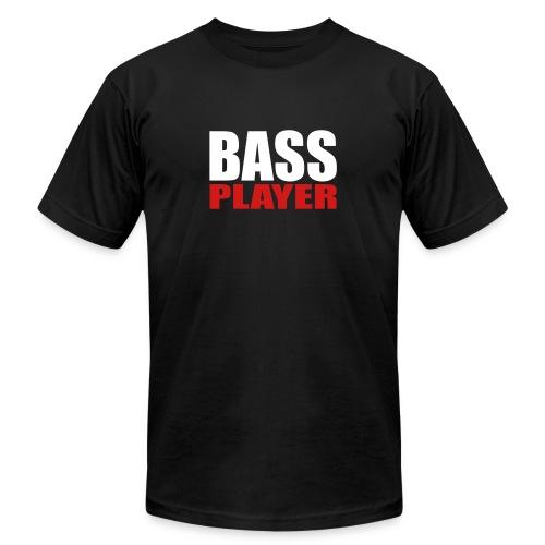 Bass Player - Unisex Jersey T-Shirt by Bella + Canvas