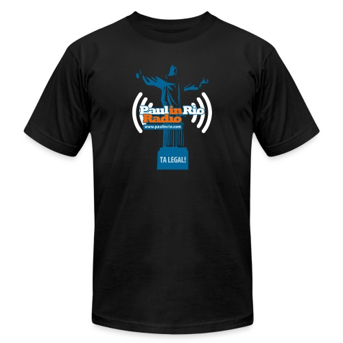Paul in Rio Radio - The Thumbs up Corcovado #2 - Unisex Jersey T-Shirt by Bella + Canvas