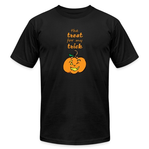 Trick or Treat Maternity - Unisex Jersey T-Shirt by Bella + Canvas