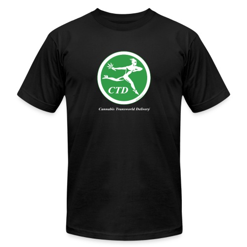 Cannabis Transworld Delivery - Green-White - Unisex Jersey T-Shirt by Bella + Canvas