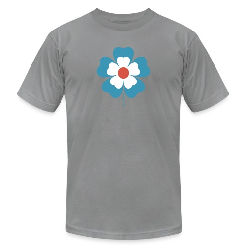 flower time - Unisex Jersey T-Shirt by Bella + Canvas