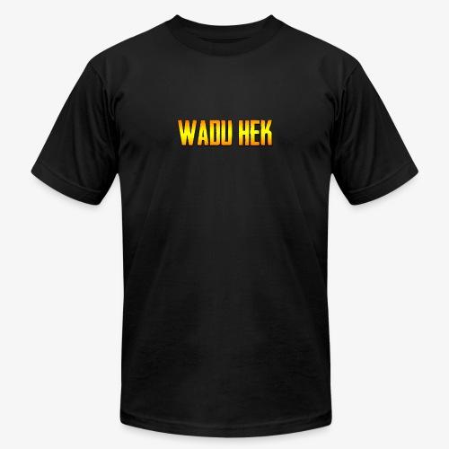 WADU HEK SHIRT TEXT - Men's  Jersey T-Shirt