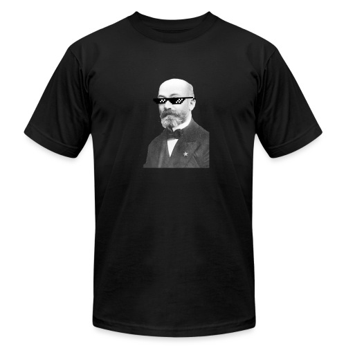 Zamenhof Shades (BW) - Unisex Jersey T-Shirt by Bella + Canvas