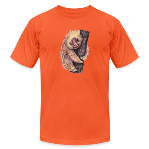 Sloth - Unisex Jersey T-Shirt by Bella + Canvas