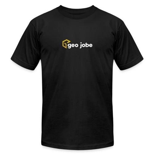 GEO Jobe Corp Logo White Text - Unisex Jersey T-Shirt by Bella + Canvas