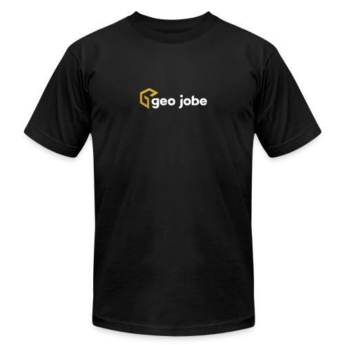 GEO Jobe Corp Logo White Text - Men's  Jersey T-Shirt