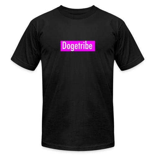 Dogetribe pink logo - Men's Jersey T-Shirt