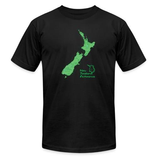 New Zealand's Map - Men's Jersey T-Shirt
