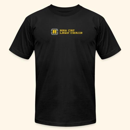 rocketlauncher blackshirt - Unisex Jersey T-Shirt by Bella + Canvas