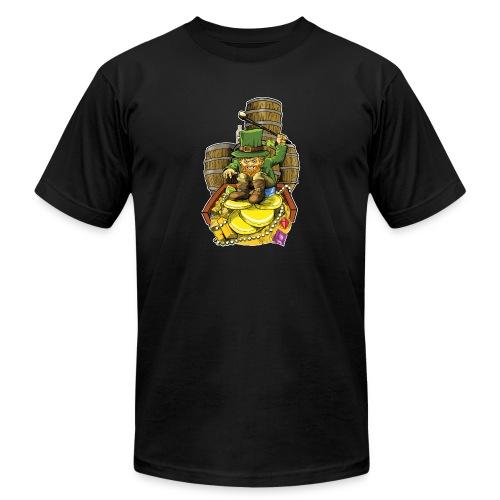 Angry Irish Leprechaun - Men's  Jersey T-Shirt