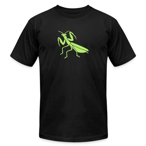 praying mantis bug insect - Unisex Jersey T-Shirt by Bella + Canvas