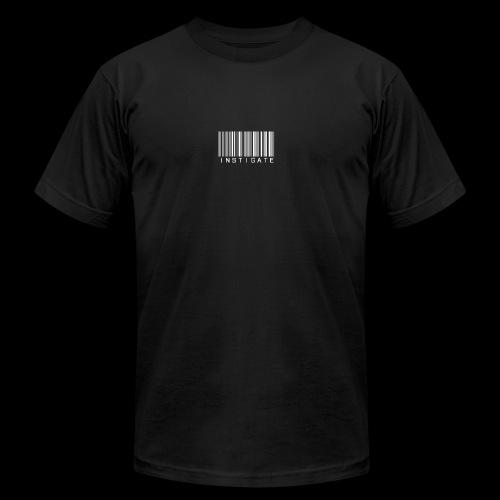 Instigate barcode - Men's  Jersey T-Shirt