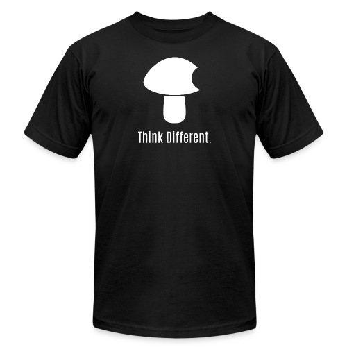 Think Different. - Unisex Jersey T-Shirt by Bella + Canvas