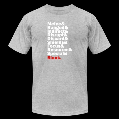 Discard to Reroll - Sides of the Die - Unisex Jersey T-Shirt by Bella + Canvas