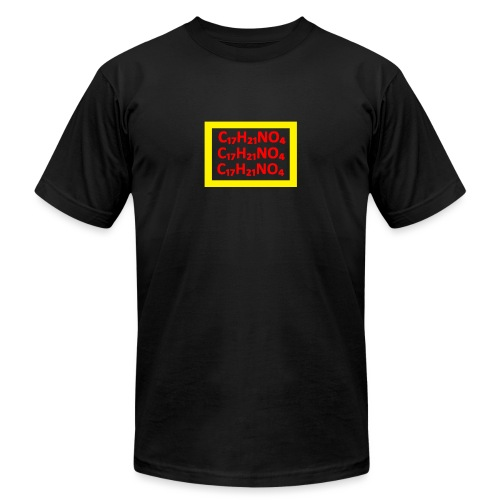 The Formula YELLOW/RED - Men's Jersey T-Shirt