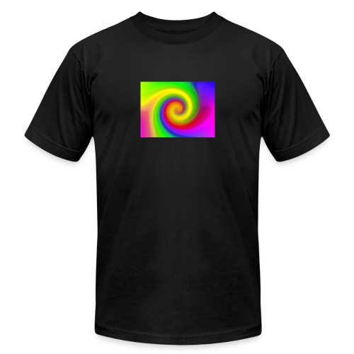 color swirl - Unisex Jersey T-Shirt by Bella + Canvas