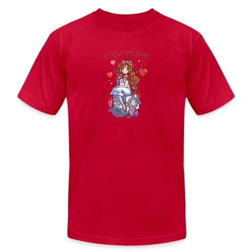 Aureylian FTB - Unisex Jersey T-Shirt by Bella + Canvas